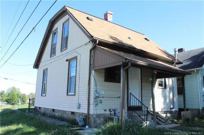 New Albany IN Single Family Home For Sale: $70,000