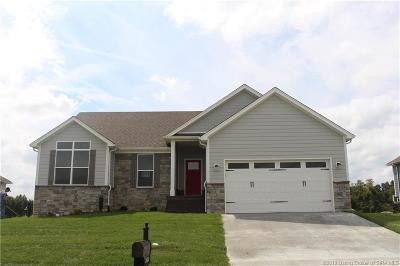 Sellersburg Single Family Home For Sale: 5404 - Lot 211 Catalina Trail