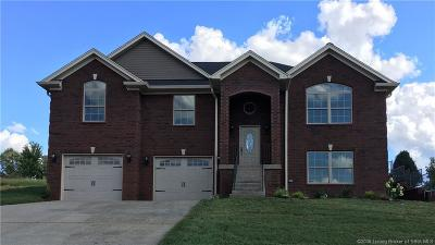 Jeffersonville Single Family Home For Sale: 3109 New Chapel (Lot 11) Road