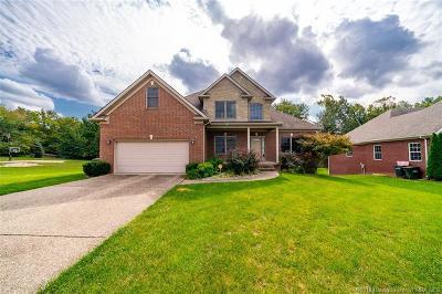 Jeffersonville Single Family Home For Sale: 3018 Lake Vista Drive E