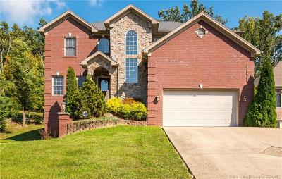 New Albany Single Family Home For Sale: 2606 Clearstream Court