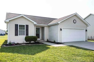Scottsburg IN Single Family Home For Sale: $139,900