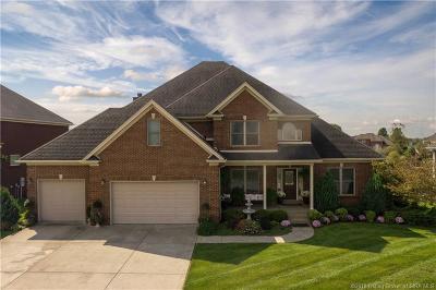 Jeffersonville Single Family Home For Sale: 3002 Lake Vista Drive E