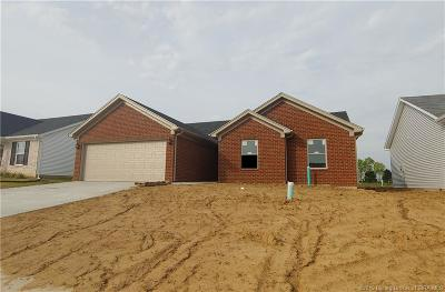 Charlestown Single Family Home For Sale: 8615 Oak Valley Dr. Lot 122