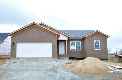 Charlestown Single Family Home For Sale: 8617 Oak Valley Dr. Lot 121