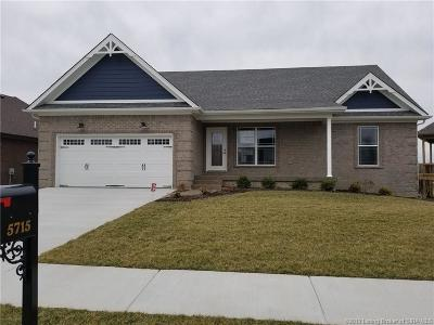Jeffersonville Single Family Home For Sale: 5715 Sugar Berry Lane