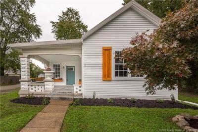 Jeffersonville Single Family Home For Sale: 720 Fulton Street-Jeff