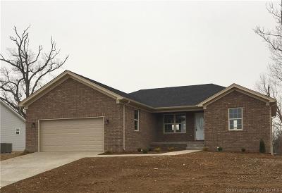 Sellersburg Single Family Home For Sale: 7920 Meyer Loop (36mm) Drive