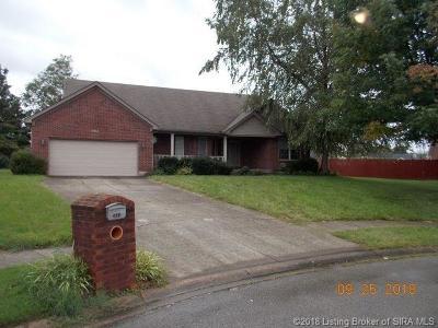 Jeffersonville Single Family Home For Sale: 2635 Darien Drive