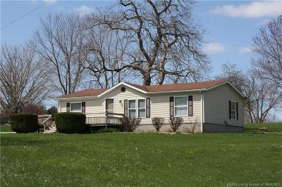 Corydon Single Family Home For Sale: 1521 Old Highway 135