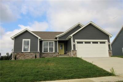 Sellersburg Single Family Home For Sale: 5408 - Lot 213 Catalina Trail