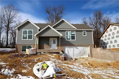 Jeffersonville Single Family Home For Sale: 3909 - Lot 160 Lotus Loop