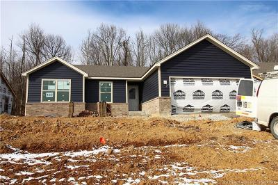 Jeffersonville Single Family Home For Sale: 3915 - Lot 163 Lotus Loop