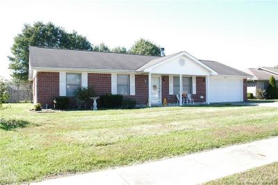 Jeffersonville Single Family Home For Sale: 3607 Jacqlyn Trail
