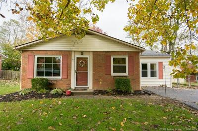 New Albany Single Family Home For Sale: 493 Alan Drive