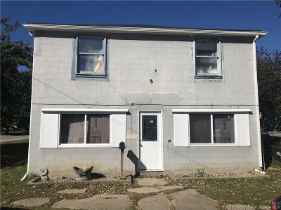 New Albany IN Single Family Home For Sale: $84,500