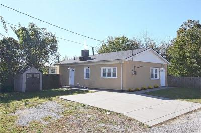 New Albany IN Single Family Home For Sale: $69,900