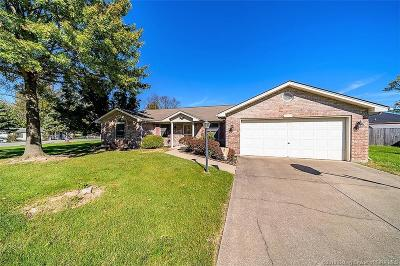 Jeffersonville Single Family Home For Sale: 3710 Alvin Drive