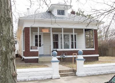 New Albany Single Family Home For Sale: 1318 E Spring Street