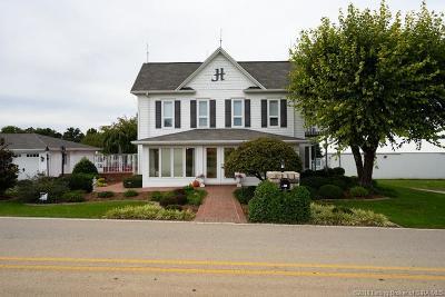 Borden Single Family Home For Sale: 2419 Engle Road