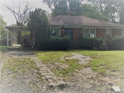 Jeffersonville IN Single Family Home For Sale: $50,000