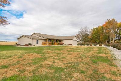 Jackson County Single Family Home For Sale: 9487 E County Road 800 S