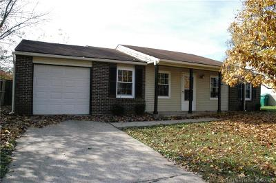 Jeffersonville Single Family Home For Sale: 705 Saratoga Drive