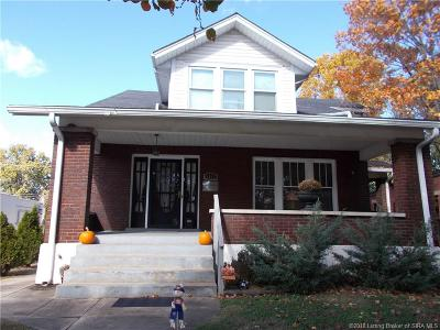 New Albany IN Single Family Home For Sale: $209,900