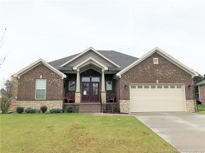 Sellersburg Single Family Home For Sale: 3203 Millan Trail