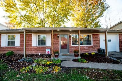 Jeffersonville Single Family Home For Sale: 3007 Sherman Drive