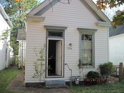 New Albany IN Single Family Home For Sale: $33,500