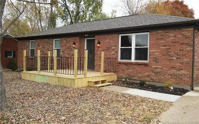 New Albany IN Single Family Home For Sale: $189,000