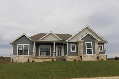 Floyd County Single Family Home For Sale: 5004 - Lot 220 Oakhill Lane
