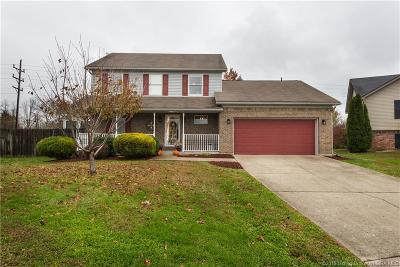 Jeffersonville Single Family Home For Sale: 4201 Crown Court