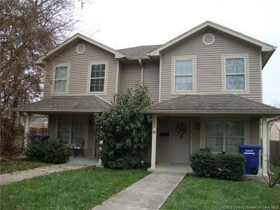 Sellersburg Single Family Home For Sale: 223 Popp Avenue