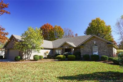 Jeffersonville Single Family Home For Sale: 2420 Ashwood Court