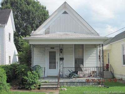 New Albany IN Single Family Home For Sale: $42,900