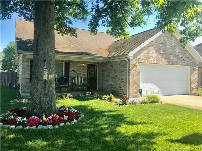 Scott County Single Family Home For Sale: 34 W Pigeon Ridge Court