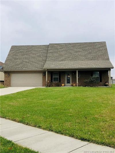Sellersburg Single Family Home For Sale: 2314 Buttercup Circle