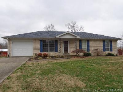 Sellersburg Single Family Home For Sale: 1704 Twinbrook Drive