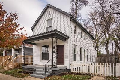 Jeffersonville Single Family Home For Sale: 418 Walnut Street