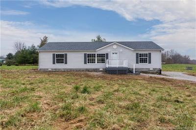 Scott County Single Family Home For Sale: 3924 S Pleasant Ridge Road