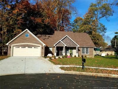 Clarksville Single Family Home For Sale: 2605 Shady Branch Court