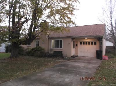 Clark County Single Family Home For Sale: 808 Morningside Drive