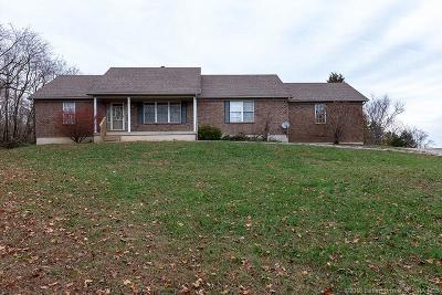 Clark County Single Family Home For Sale: 23007 Nicholson Knob Road