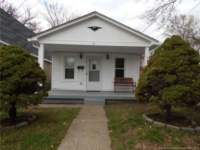 New Albany Single Family Home For Sale: 109 Monroe Street