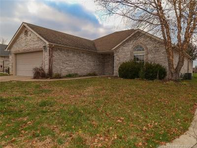 Jeffersonville Single Family Home For Sale: 4109 Alysa Drive