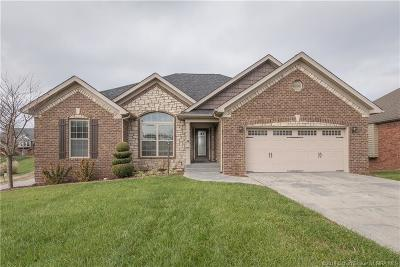 Jeffersonville Single Family Home For Sale: 3130 Timberlake Court