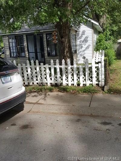 New Albany IN Single Family Home For Sale: $49,900