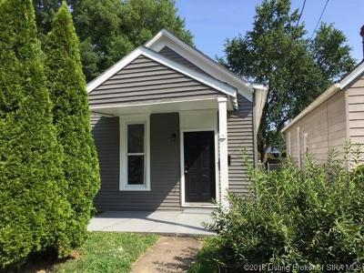 Jeffersonville Single Family Home For Sale: 812 E 7th Street